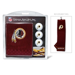 Washington Redskins Embroidered Golf Gift Set