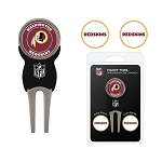 Washington Redskins Golf Divot Tool Set of 3 Markers