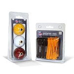 Washington Redskins 3 Golf Ball/50 Golf Tee