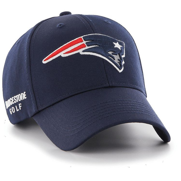 New England Patriots NFL Logo Bridgestone Golf Hat   Cap 5967d2e19d6