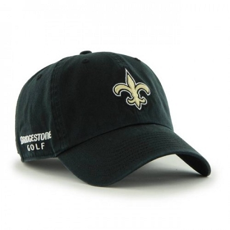 be458e08082 New Orleans Saints NFL Logo Bridgestone Golf Hat   Cap
