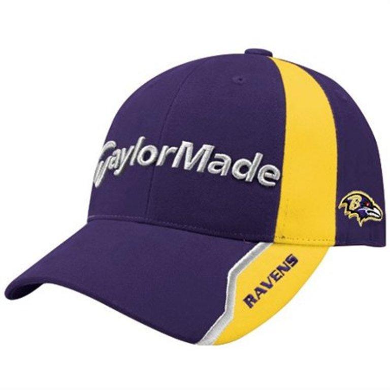 0b2b68ca Baltimore Ravens NFL Logo TaylorMade Nighthawk Hat / Cap