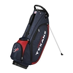 Houston Texans Wilson NFL Golf Stand Bag
