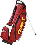 Kansas City Chiefs Wilson NFL Golf Stand Bag