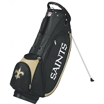New Orleans Saints Wilson NFL Golf Stand Bag