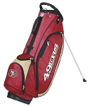 San Francisco 49ers Wilson NFL Golf Stand Bag