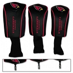 Arizona Cardinals Set of Three Mesh Golf Head covers
