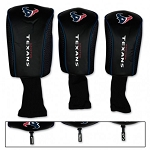 Houston Texans Set of Three Mesh Headcovers