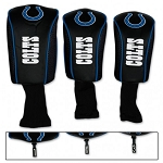 Indianapolis Colts Set of Three Mesh Headcovers