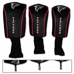 Atlanta Falcons Set of Three Mesh Golf Headcovers