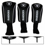 Raiders Set of Three Mesh Headcovers