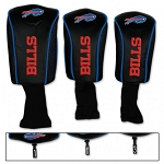 Buffalo Bills Set of Three Mesh Golf Headcovers