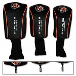 Cincinnati Bengals Set of Three Mesh Headcovers