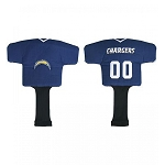 Los Angeles Chargers Team Jersey Driver Head Cover