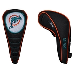 Miami Dolphins Shaft Gripper Driver Head Cover