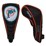 Miami Dolphins Shaft Gripper Fairway Head Cover