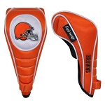 Cleveland Browns Shaft Gripper Fairway Golf Head Cover