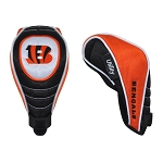 Cincinnati Bengals Shaft Gripper Utility Golf Head Cover