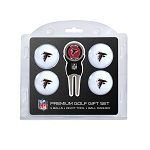 Atlanta Falcons 4 Ball Golf Gift Set