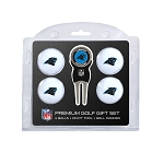 Carolina Panthers 4 Ball Golf Gift Set