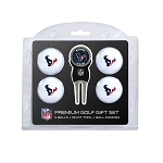 Houston Texans 4 Golf Ball Gift Set