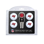 Tampa Bay Buccaneers 4 Golf Ball Gift Set