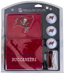 Tampa Bay Buccaneers Embroidered Golf Gift Set