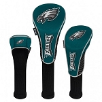 Philadelphia Eagles Set of Three Golf Head Covers