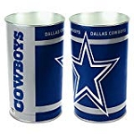 Dallas Cowboys NFL Waste Basket