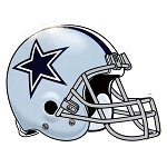 Dallas Cowboys NFL Die-Cut Magnet