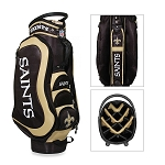 New Orleans Saints NFL Team Medalist Golf Cart Bag