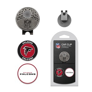 Atlanta Falcons 2 Marker Golf Cap Clip