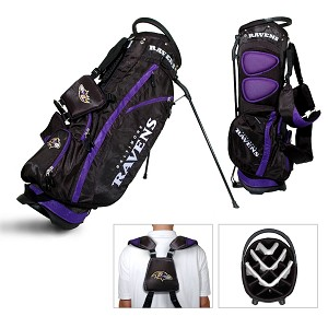 Baltimore Ravens Team Golf NFL Fairway Golf Stand Bag