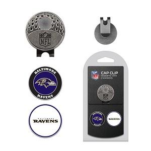 fdff29561e7 Baltimore Ravens 2 Marker Cap Clip