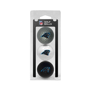 Carolina Panthers 3 Golf Ball Clamshell