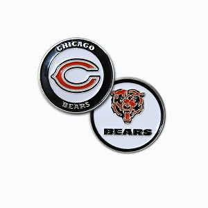 Chicago Bears Double Sided Golf Ball Marker