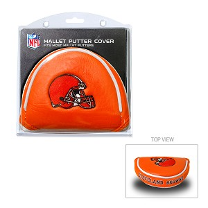 Cleveland Browns Mallet Golf Putter Cover