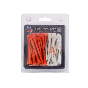 Cleveland Browns 50 Imprinted Golf Tee Pack