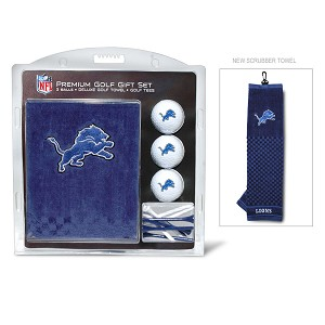 Detroit Lions Embroidered Golf Towel Gift Set