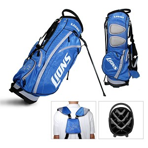 on sale dd26a f53b0 Detroit Lions Team Golf NFL Fairway Golf Stand Bag