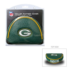 Green Bay Packers Mallet Golf Putter Cover