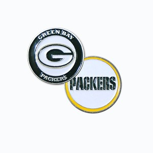 Green Bay Packers Double Sided Golf Ball Marker