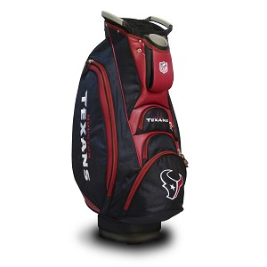 Houston Texans NFL Team Victory Golf Cart Bag