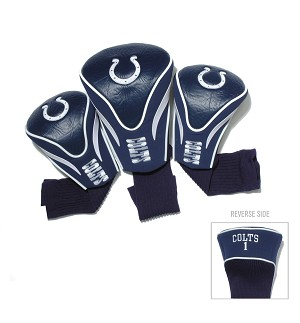 Indianapolis Colts NFL Golf Contour Head Cover Set