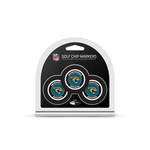 Jacksonville Jaguars NFL Set of 3 Poker Chips