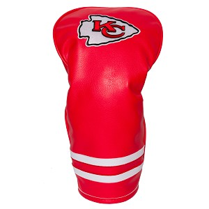 Kansas City Chiefs Vintage Golf Driver Head Cover