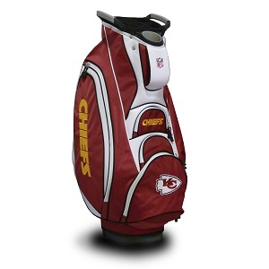 Kansas City Chiefs NFL Team Victory Golf Cart Bag