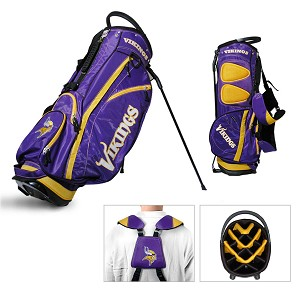 Minnesota Vikings NFL Team Golf Fairway Stand Bag