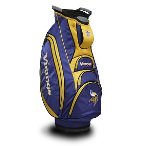 Minnesota Vikings NFL Team Victory Golf Cart Bag
