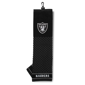 Raiders Embroidered Golf Towel
